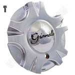 Gianelle Wheels Chrome Custom Wheel Center Cap # A203 (1 CAP)