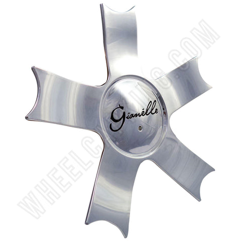 Gianelle Wheels Chrome Custom Wheel Center Cap # 152K177-C1  (4 CAPS)