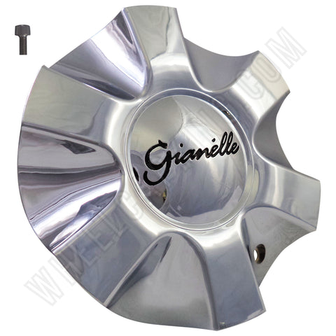Gianelle # C012-1 Chrome Custom Wheel Center Cap (4 CAPS)