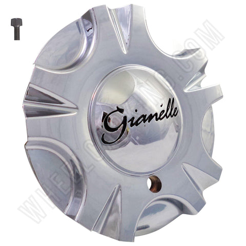 Gianelle Wheels Chrome Custom Wheel Center Cap # A203 (4 CAPS)