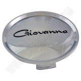 Giovanna Wheels Chrome Custom Wheel Center Cap # 61972410-F-2 (1 CAP)