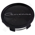 Giovanna Flat Black Custom Wheel Center Cap # 998K75 / S709-29 (1 CAP)