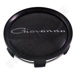 Giovanna Gloss Black Custom Wheel Center Cap # 998K75 / S709-29 (1 CAP)