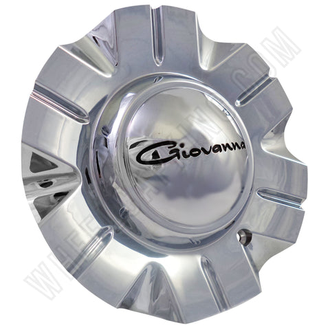 Giovanna Wheels Attack Chrome Custom Wheel Center Cap # 99-20119 (4 CAPS)