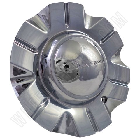 Giovanna Wheels Attack Chrome / Chrome Custom Wheel Center Cap # 99-20119 (4 CAPS)