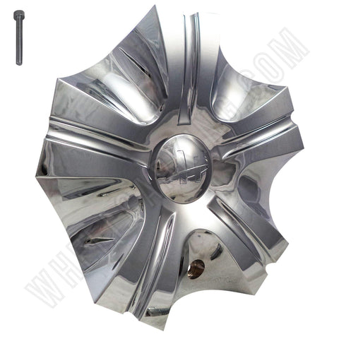 HELO Wheels Chrome Custom Wheel Center Cap Caps # HE814RWD (1 CAP)
