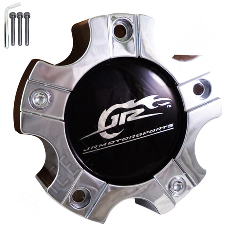 JR Motorsports  Chrome Custom Wheel Center Cap # CAP M-562 (4 CAPS)