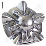 KMC Wheels 255L190 / 1000820 Custom Wheel Center Cap Chrome (1 CAP)