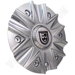Lexani Wheels Chrome Custom Wheel Center Cap  # C-189 / 009-2810-CAP (1 CAP)