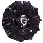Lexani Wheels 'SS' Gloss Black Custom Wheel Center Cap # C-189 / C-400 (4 CAPS)