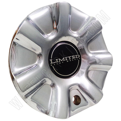 Limited Wheels Chrome Custom Wheel Center Cap # A-904 (4 CAPS)