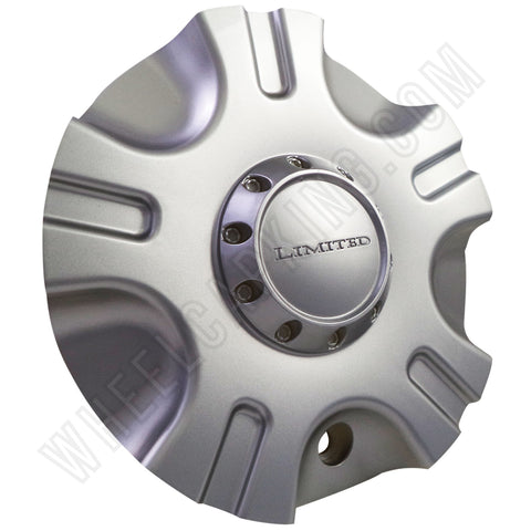 Limited # T311B / 2085-CAP Wheels Silver Custom Wheel Center Caps NEW! (4 CAPS)