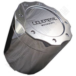 Liquid Metal Chrome Custom Wheel Center Cap # BC-671 (4 CAPS) TALL