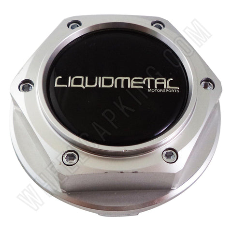 Liquidmetal Wheels Polished Custom Wheel Center Cap # BC-595B (1 CAP)