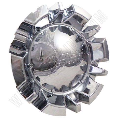 Liquid Metal Motorsports Wheels Chrome Wheel Center Cap # BC-741B (SET OF 4)