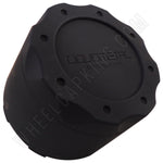 Liquid Metal Wheels Flat Black Custom Wheel Center Cap # BC-671B / BC-671 (4 CAPS)
