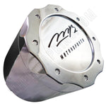MB Motorsports Wheels Chrome Custom Wheel Center Cap # BC-671 (4 CAPS) TALL