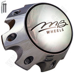 MB Motorsport Wheels Chrome Custom Wheel Center Caps # BC-790HS (4 CAPS)