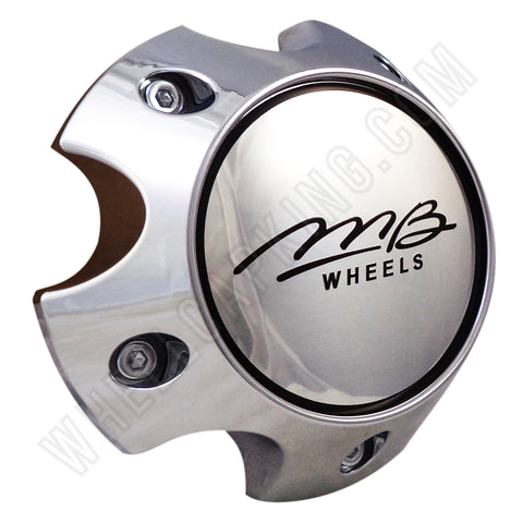 MB Motoring Wheels Chrome Custom Wheel Center Cap # BC-787 (4 CAPS)