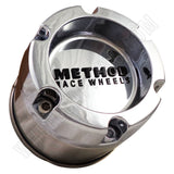 Method Wheels Chrome Custom Wheel Center Cap # 1524b114-1-c1 (4 CAPS)