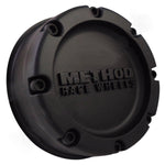 METHOD Matte Black Custom Wheel Center Cap # 1524B140-1 (1 CAP)