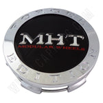 MHT Wheels Chrome Custom Wheel Center Cap # 1001-03 (4 CAPS)