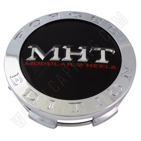 MHT Wheels Chrome Custom Wheel Center Cap # 1001-03 (1 CAP)