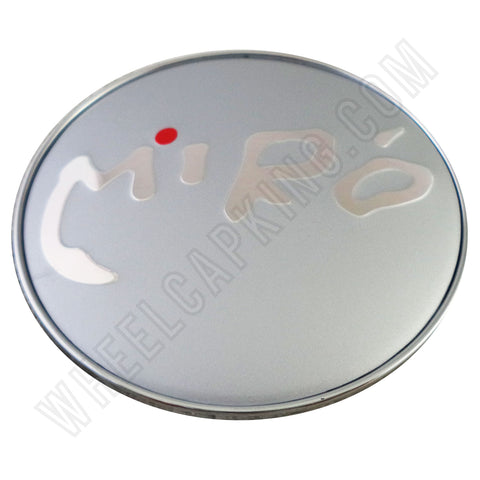 Miro Wheels Chrome / Silver Custom Wheel Center Caps # 106-3 (1 CAP)