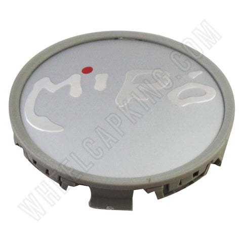 Miro Wheels Grey / Silver Custom Wheel Center Cap # 4473 (4 CAPS)