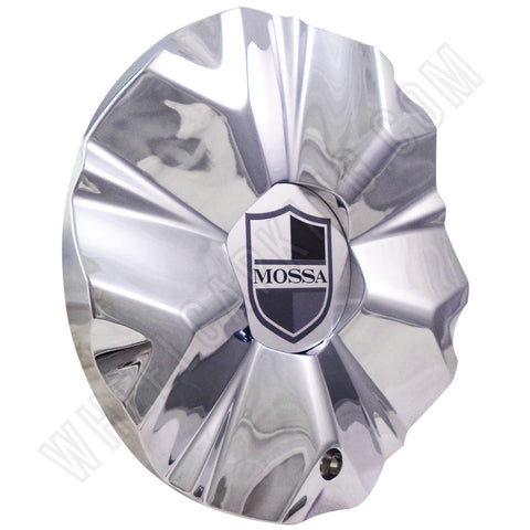Mossa Wheels Chrome Custom Wheel Center Caps # 748-RWD /MS-CAP-L194 (1 CAP)