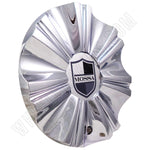 Mossa Wheels Chrome Custom Wheel Center Caps # 749-RWD /MS-CAP-L195 (1 CAP)