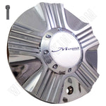 Mossa Wheels Chrome Custom Wheel Center Caps # C-743 / CAP-743C (1 CAP)