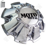 Moto Metal Chrome Custom Wheel Center Caps # CAP M-793 With Bolts (4 CAPS)
