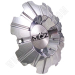 Moz Wheels Chrome Custom Wheel Center Cap # 2001-22 (4 CAPS)