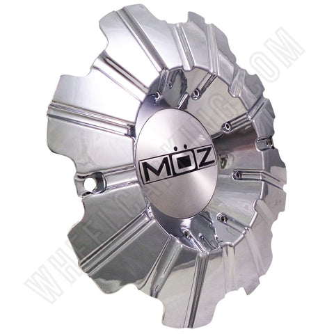 Moz Wheels Chrome Custom Wheel Center Cap # 2001-22 (1 CAP)