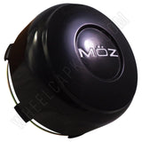Moz Wheels Gloss Black Custom Wheel Center Cap # 2001-13 (4 CAPS)