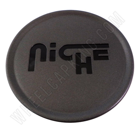 Niche Wheels Dark Grey Custom Wheel Center Cap # CAP M-774 / 1003-24 (1 CAP)