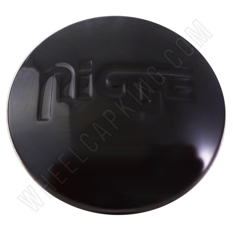 Niche Wheels Gloss Black Custom Wheel Center Cap # 1000-47 / 1000-44  (4 CAPS)