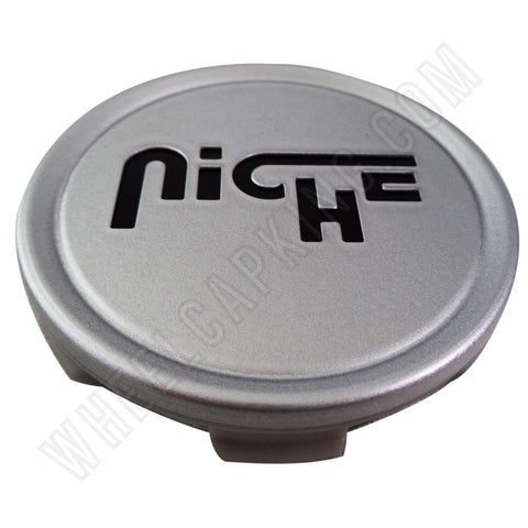 Niche Wheels Silver Custom Wheel Center Cap # M-773 / 1003-22 (4 CAPS)
