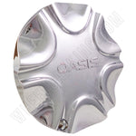 Oasis Wheels Chrome Custom Wheel Center Cap Caps Set 4 # PTW011 NEW!