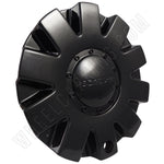 ROCKSTARR Wheels Gloss Black Custom Wheel Center Cap # C-138 (1 CAP)