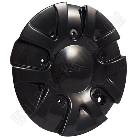 ROCKSTARR Alloy Wheels Gloss Black Custom Wheel Center Caps # C-139 (4 CAPS)