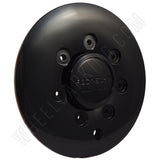 ROCKSTARR Wheels Gloss Black Custom Wheel Center Cap # CAP515L185 (4 CAPS)