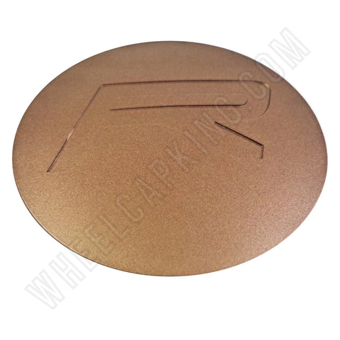 Rovos Wheels Bronze Custom Wheel Center Cap # SB2 (4 CAPS)