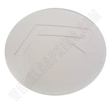 Rovos Wheels Gloss White Custom Wheel Center Cap # W (4 CAPS)