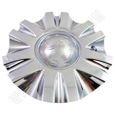 SSC / Sears Chrome Custom Wheel Center Cap # MCD8243YA01 / SJ106-19 (4 CAPS)