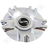 SSC / Sears Chrome Custom Wheel Center Cap # MCD1398YA01 / SJ811-02 (1 CAP)