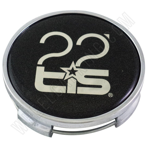 "TIS Wheels Chrome Custom Wheel Center Cap # TIS1420001 (1 CAP) (22"")"