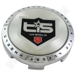 TIS Wheels Chrome Custom Wheel Center Caps # 56652085F-1 / TIS16 CAP (4 CAPS)