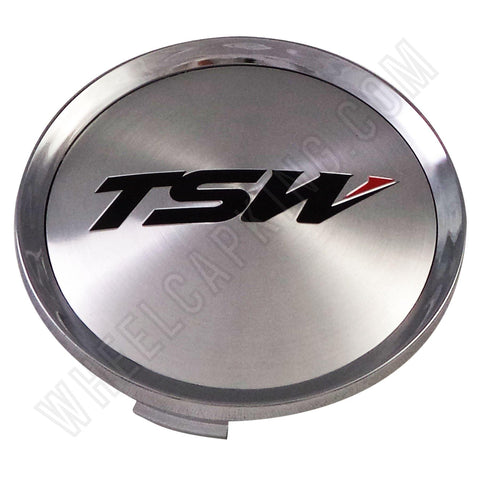 TSW Wheels Chrome Custom Wheel Center Cap # CAP-T085 (4 CAPS)